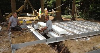 Nieuwbouw tuinhuis