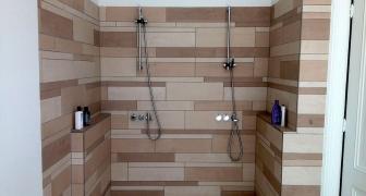 Diversen badkamers verbouwd